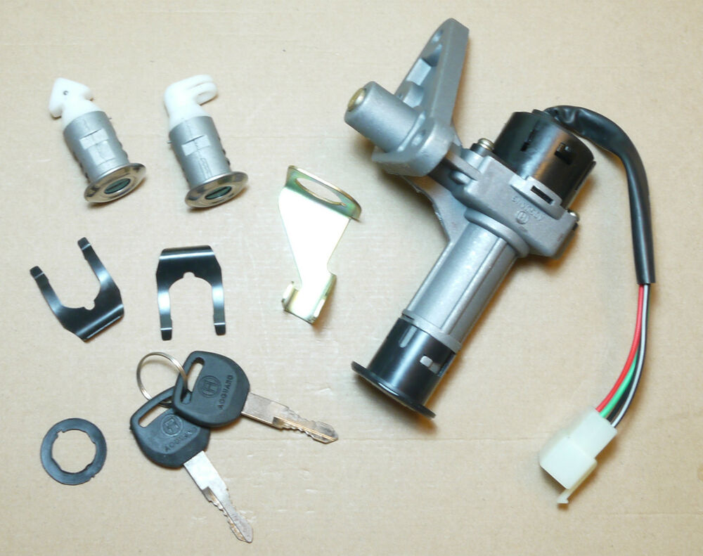 4 wire key ignition switch lock set gy6 scooter moped atv 139qmb 50 125 150 200 ebay