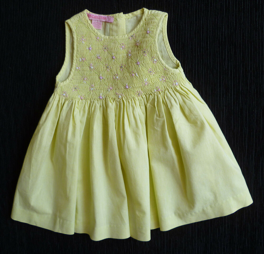 Baby clothes girl 12 18m orchestra french designer yellow Baby clothing designers