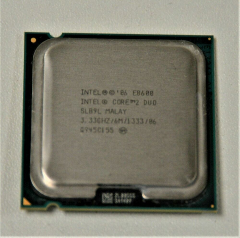 intel core 2 duo e8400 8400 3 ghz dual core unboxed cpu only warranty sale ebay. Black Bedroom Furniture Sets. Home Design Ideas