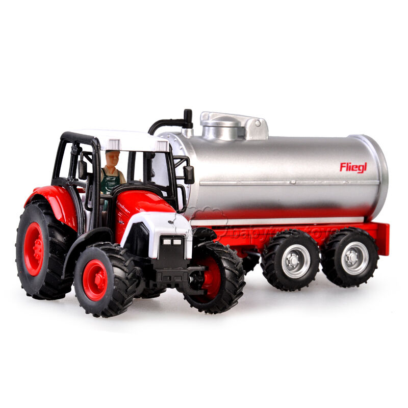 Tractor With Tanker : New scale diecast farm vehicles pulling tractor oil