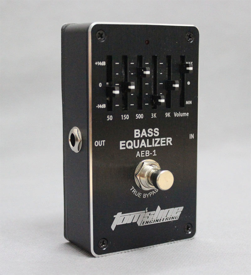 aeb bass 5 band eq equalizer guitar effect pedal exclusive for electric bass ebay. Black Bedroom Furniture Sets. Home Design Ideas