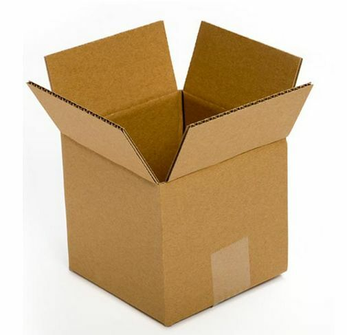 small cardboard boxes 5x5x5 25 pack moving storing gift packing shipping lids ebay. Black Bedroom Furniture Sets. Home Design Ideas
