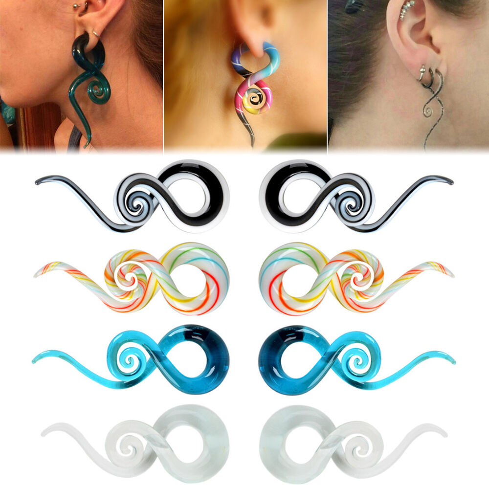 how to put spiral tapers in