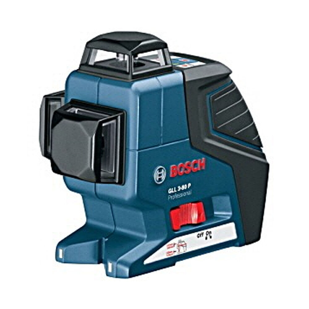 bosch power measuring gll3 80p triple plane 360 degree self leveling line laser ebay. Black Bedroom Furniture Sets. Home Design Ideas