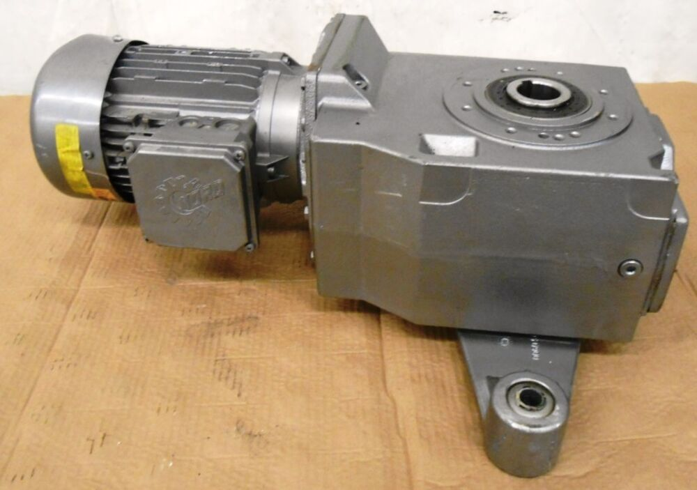 Nord motor 90 l 4 cus 2 hp gear reducer 92772azdb 90 for 1 4 hp gear reduction motor