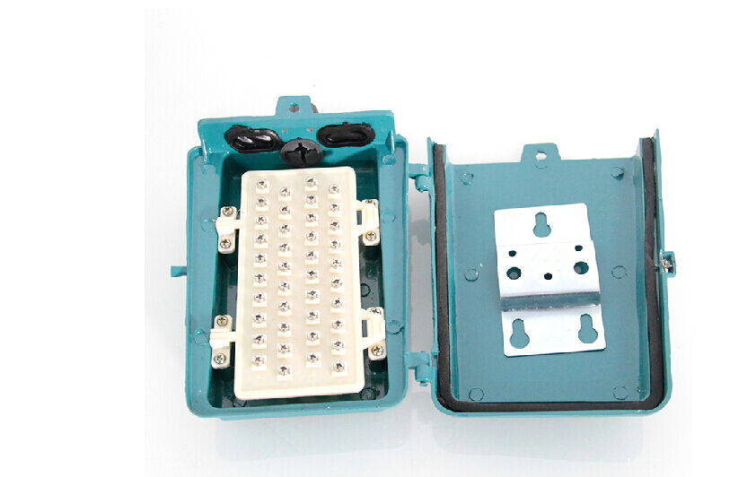 20 Pair Telephone Cable Junction Box  Voice Screw Type Terminal Box Waterproof