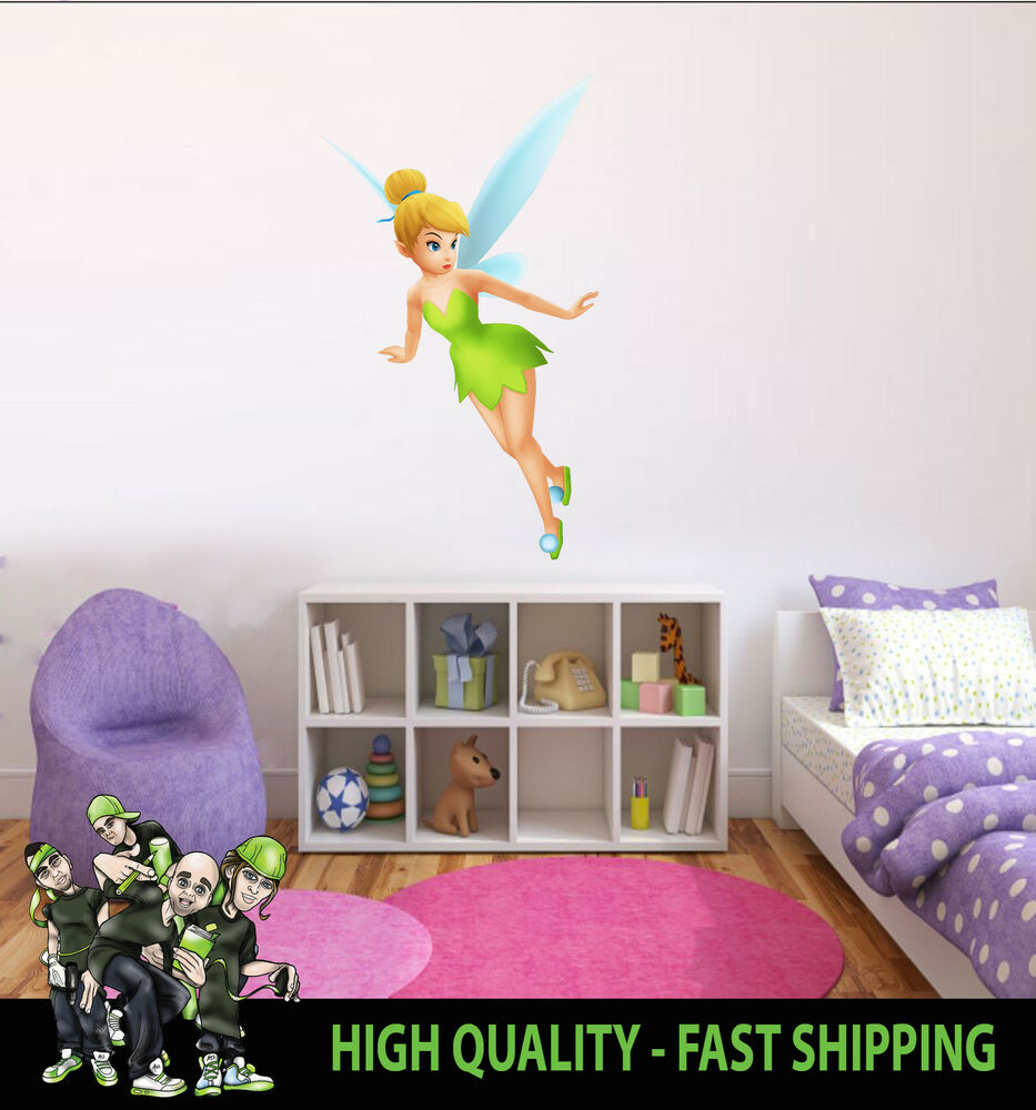 Printed Wall Art Tinkerbell 002 Peter Pan Graphic Sticker