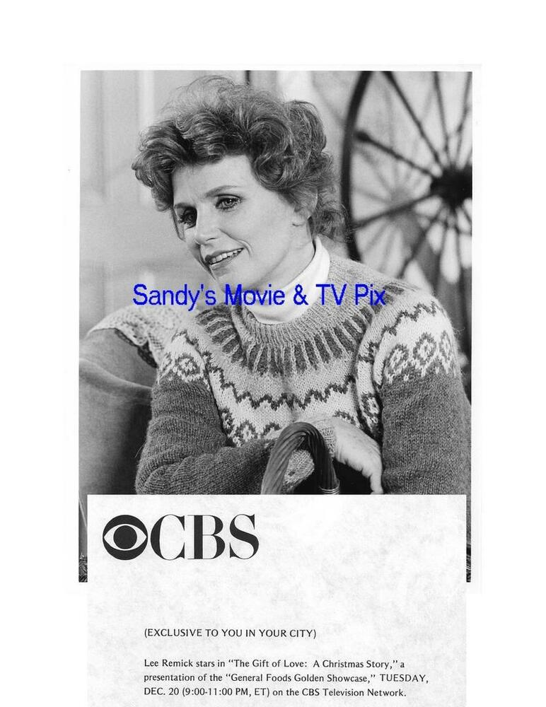 LEE REMICK Terrific Original TV Photo THE GIFT OF LOVE A CHRISTMAS ...