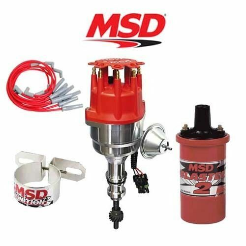 msd 9902 ignition kit ready to run distributor wires coil. Black Bedroom Furniture Sets. Home Design Ideas