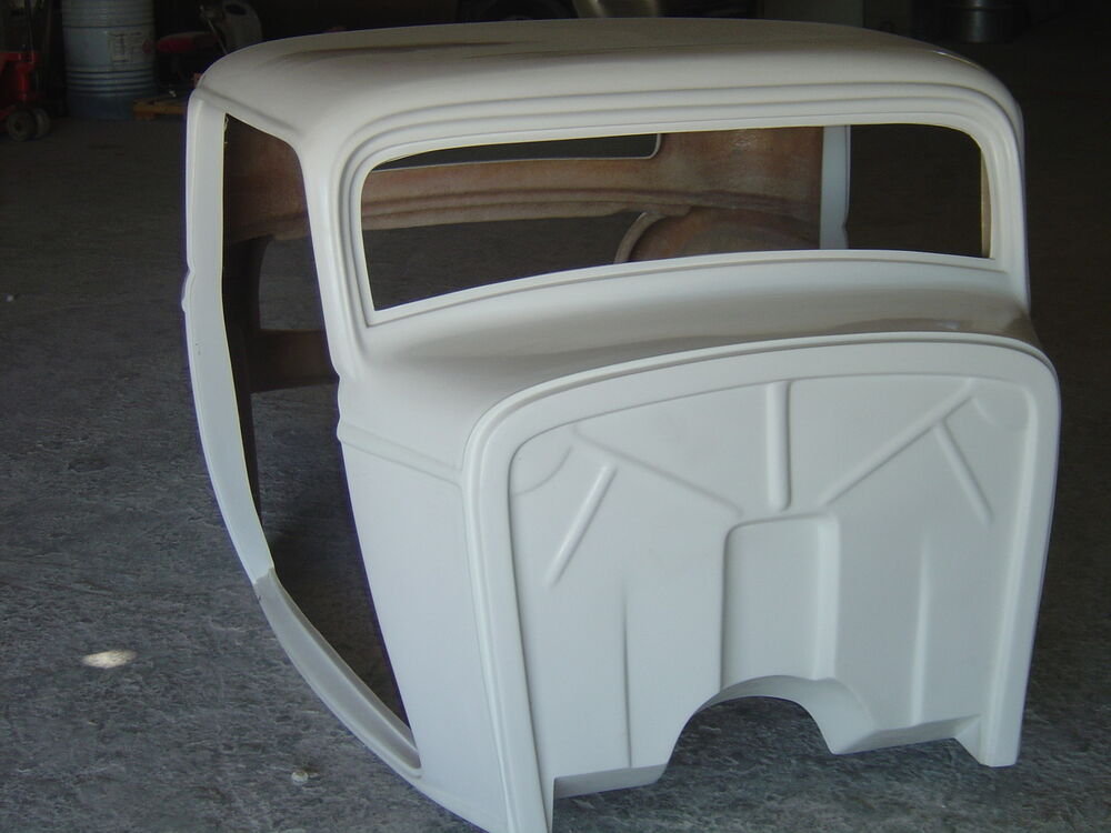 Fiberglass Embedded Graphics : Ford fiberglass body parts