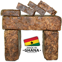 Kyпить Raw African Black Soap Organic 100% Pure From Ghana 2 oz - 50 lb Bulk Wholesale на еВаy.соm