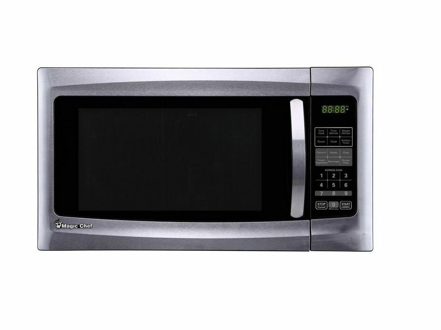 cu ft Countertop Microwave in Black and Stainless Steel eBay