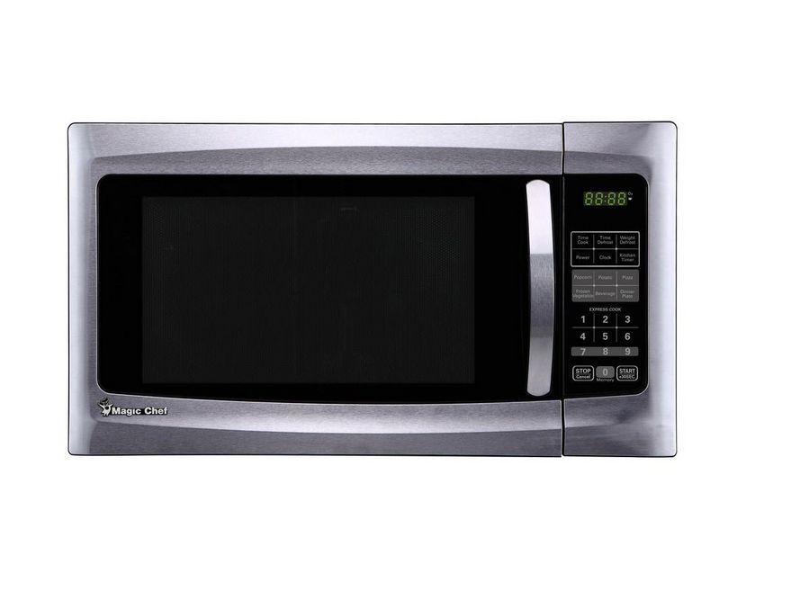 Countertop Microwave Black Stainless : cu ft Countertop Microwave in Black and Stainless Steel eBay
