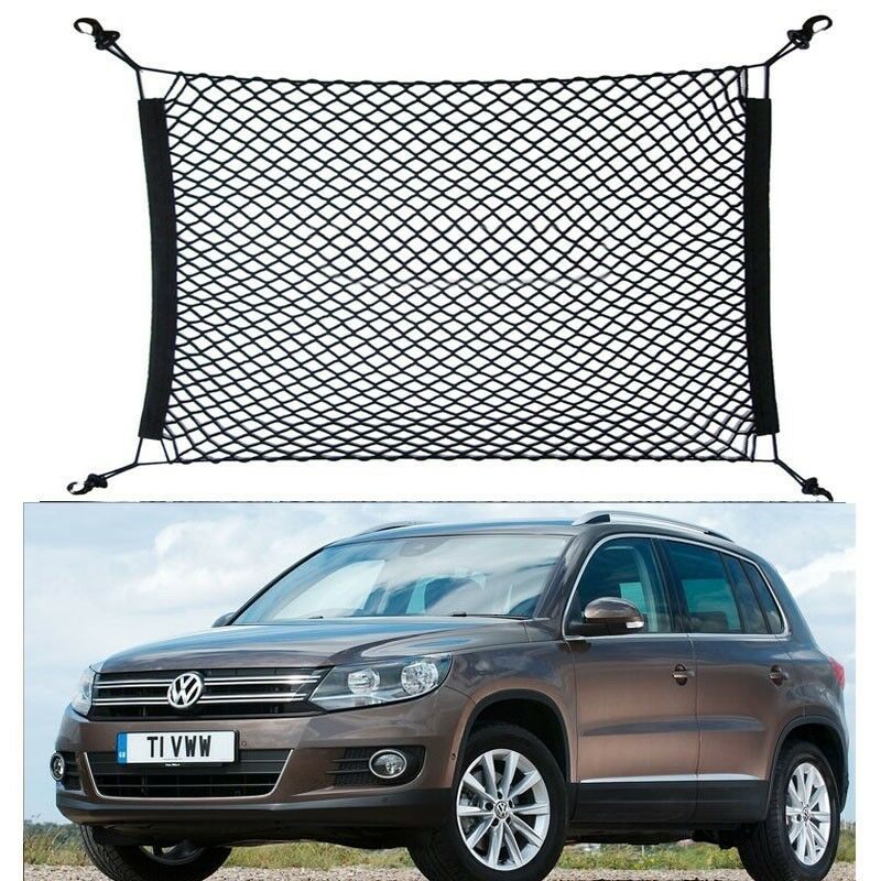 4 hook car trunk cargo luggage net holder net hold fit for vw tiguan 70 70cm ebay. Black Bedroom Furniture Sets. Home Design Ideas