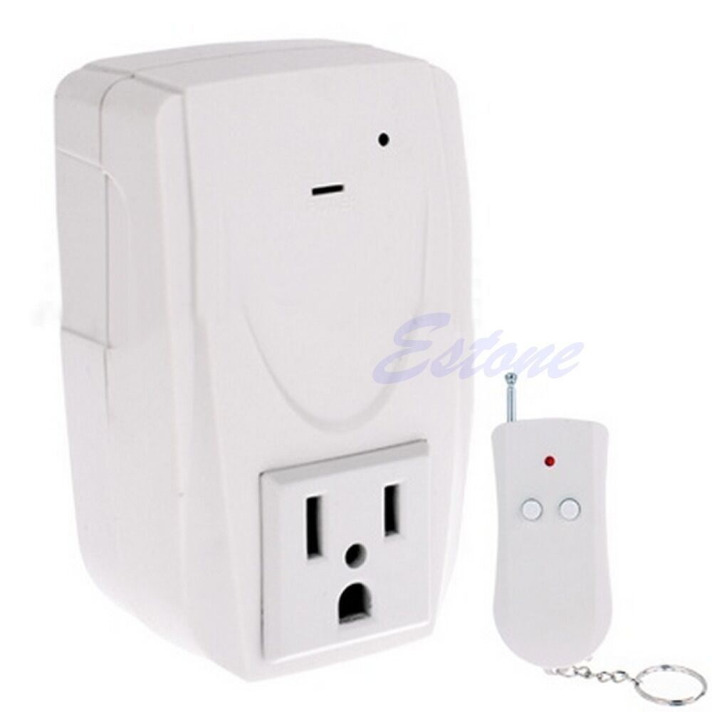 digital wireless remote control power system outlet socket. Black Bedroom Furniture Sets. Home Design Ideas