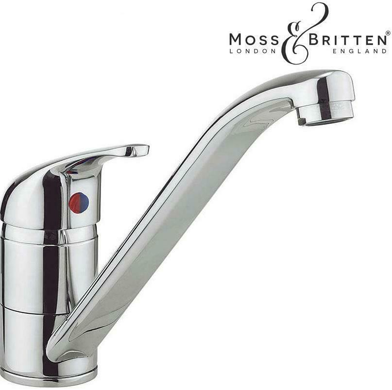 kitchen sink mixer tap monobloc modern chrome brass single. Black Bedroom Furniture Sets. Home Design Ideas