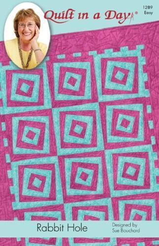 Rabbit Hole Quilt Pattern By Quilt In A Day Eleanor Burns