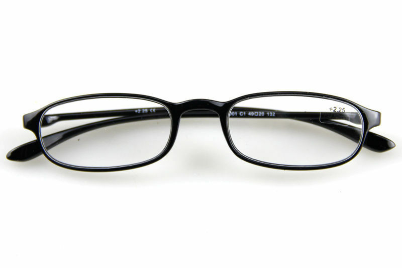 Classic Black Frame TR90 Designer Working Reading Glasses ...