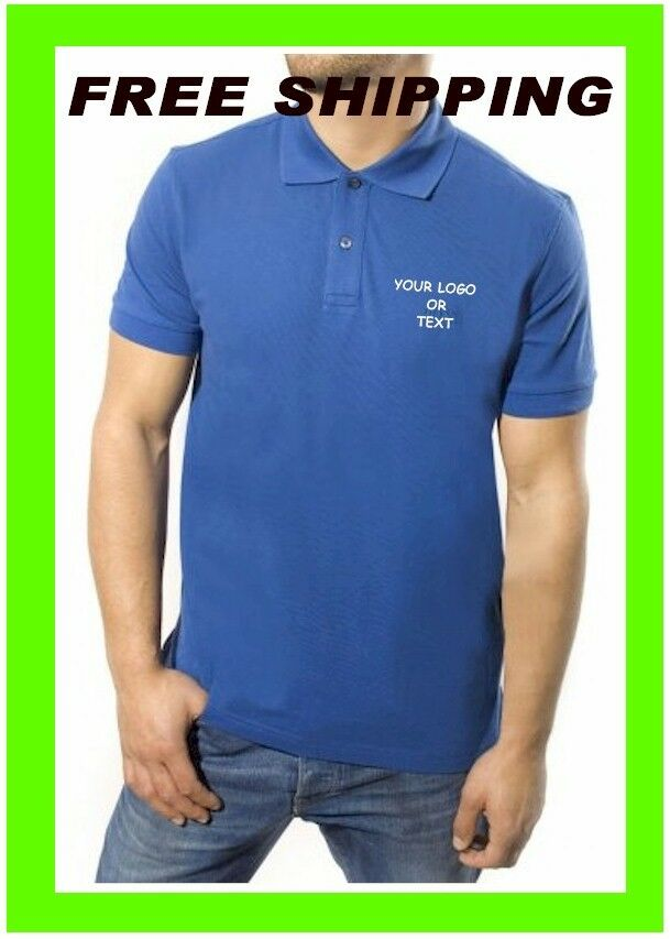 buy 1 polo shirts custom embroidery free digitization