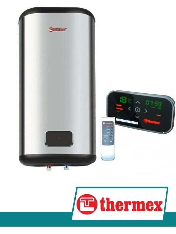 warmwasserspeicher flach 50 liter 2000 watt boiler thermex id 50 v edelstahl ebay. Black Bedroom Furniture Sets. Home Design Ideas