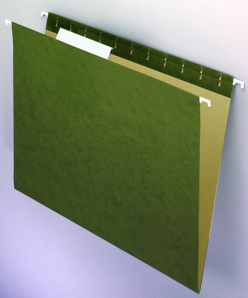 New 3 X 25pk Staples 100 Recycled Reinforced Hanging File