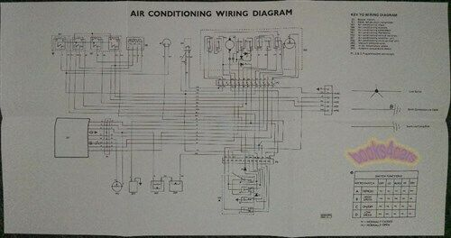 Jaguar Xj6 Air Conditioning Electrical Wiring Diagram Shop Repair