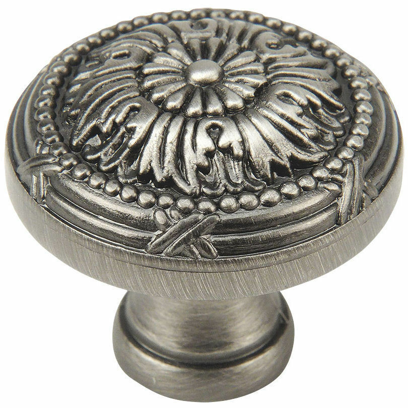 pewter cabinet pulls