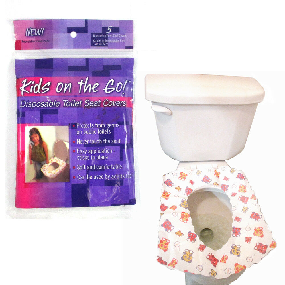 New Toilet Training Disposable Potty Seat Cover 5 Pack