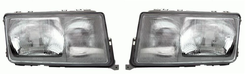 Mb mercedes 190 w201 1982 1993 headlight front pair for Mercedes benz 190e headlights