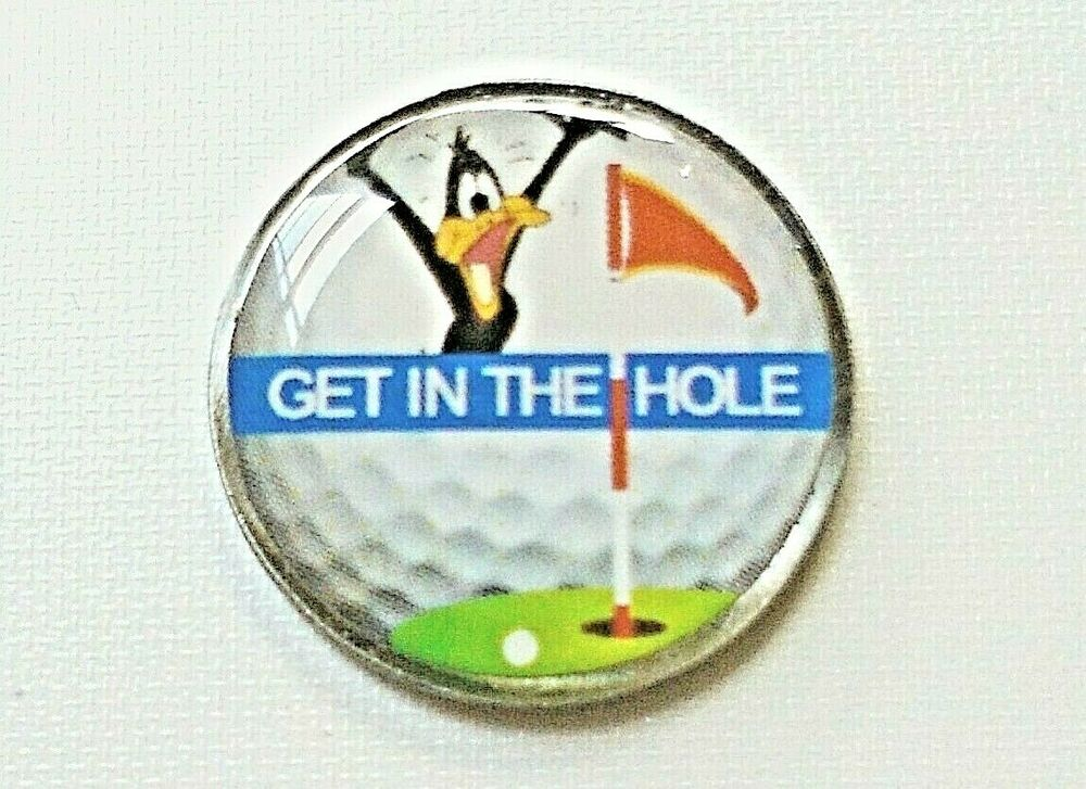 Anneys Golf Ball Marker Get In The Hole Ebay