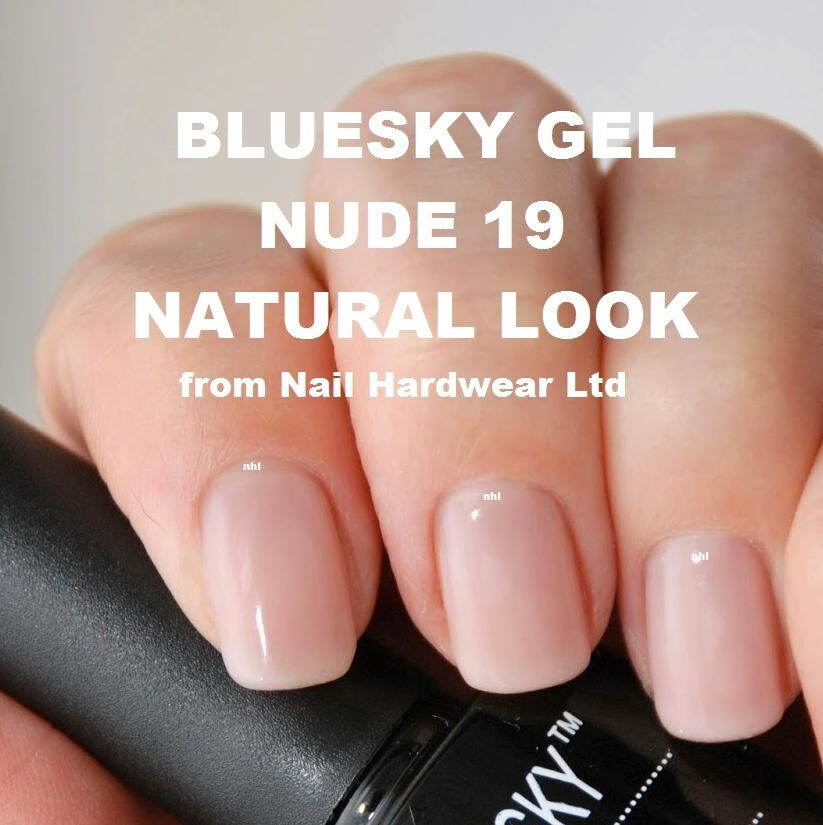 BLUESKY ND19 NUDE 19 GEL NAIL POLISH NATURAL LOOK + 40501 - 40550 ...