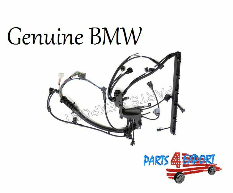 genuine bmw e46 engine wiring harness for engine module   warranty