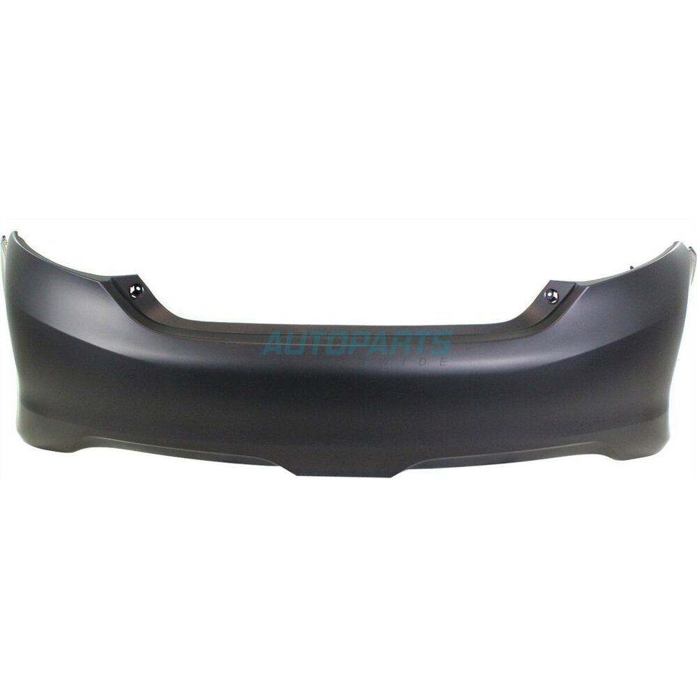 new 2012 2014 fits toyota camry rear bumper cover for se. Black Bedroom Furniture Sets. Home Design Ideas