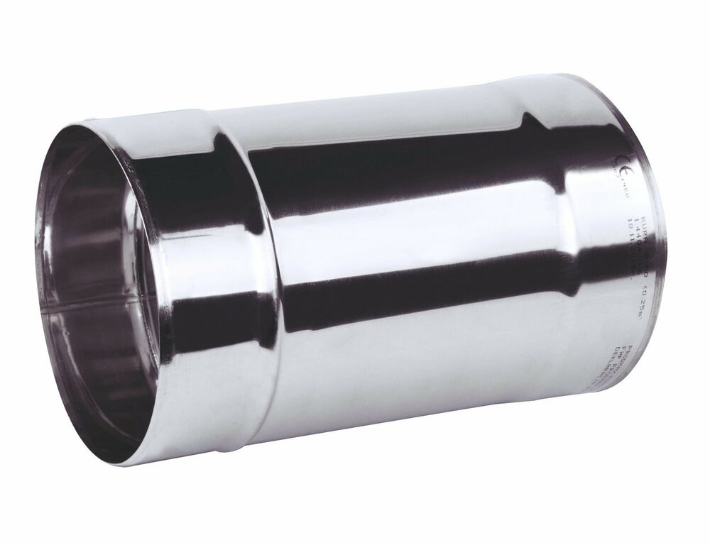 Chimney Flue Liner Pipe 100mm 4 Quot 25cm Stainless Steel
