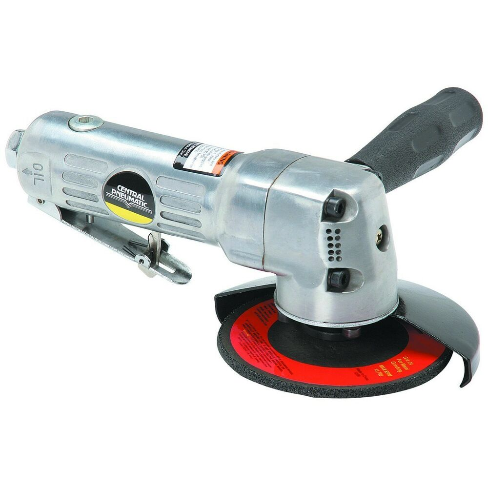 Electric Angle Die Grinder ~ Ansi certified central pneumatic in air angle die saw