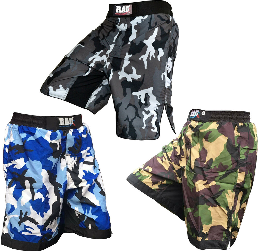 RAD MMA Fight Shorts Grappling Short Kick Boxing Cage ...