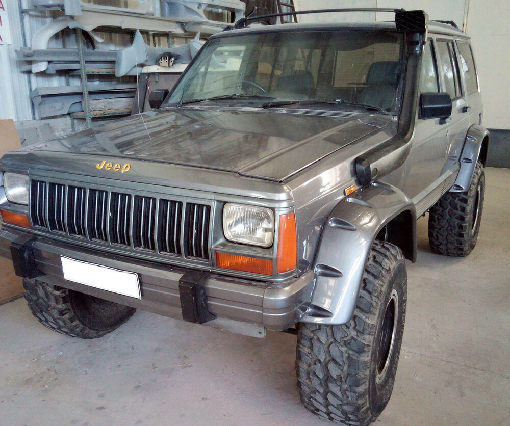 Fender Flares Wheel Arches Pocket Style For Jeep Cherokee Xj Year 1984 1996 Ebay