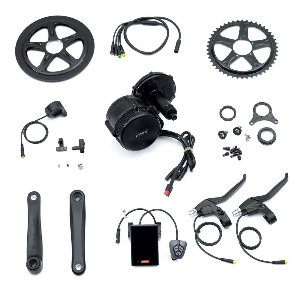 Recumbent Bike Electric Motor Kit: BBS02B 48v750w Bafang Mid Drive Conversion Kit With 48v11
