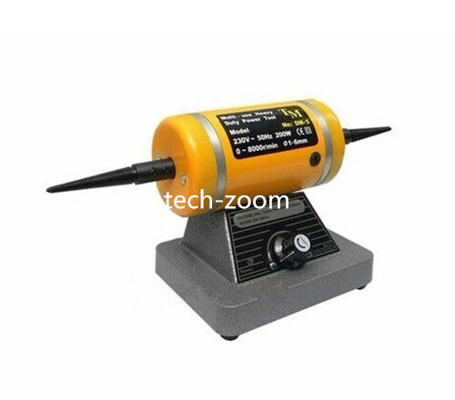 Variable speed bench lathe polishing machine buffing motor for How to make a variable speed motor