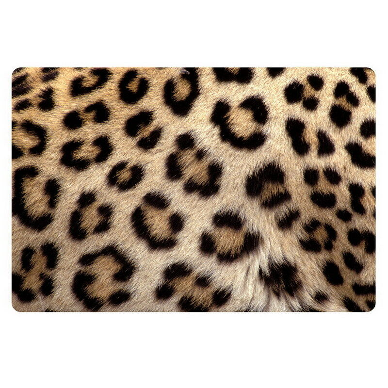 Fashion leopard print doormat floor rugs carpets of for Floor print