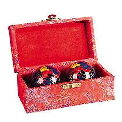 Kyпить CHINESE HEALTH EXERCISE STRESS BAODING BALLS RELAXATION THERAPY DRAGON DESIGN на еВаy.соm