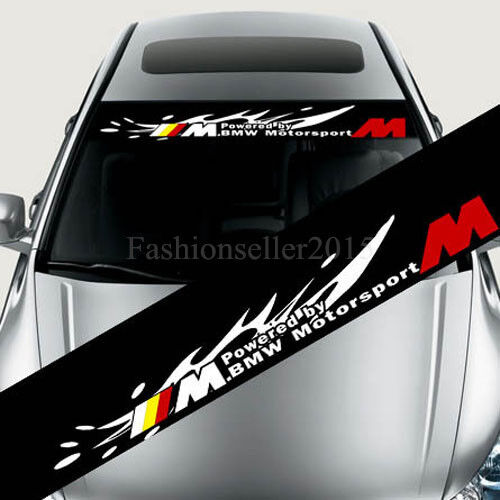 Reflective Front Windshield Decal Vinyl Car Stickers For