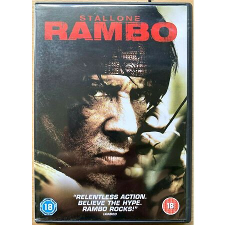 img-Rambo DVD 2008 First Blood John 4 Action Film Movie with Sylvester Stallone