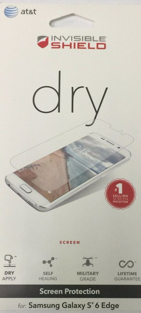 ZAGG OEM InvisibleShield DRY Screen Protector for Samsung ...