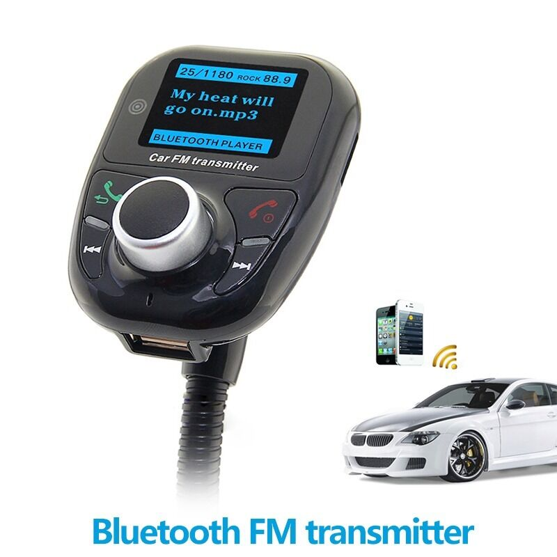new fm transmitter bluetooth music radio player remote. Black Bedroom Furniture Sets. Home Design Ideas