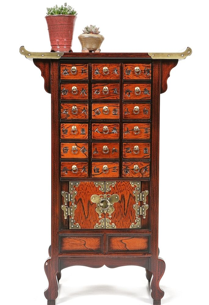 Oriental furniture nightstand vintage japanese antique for South asian furniture