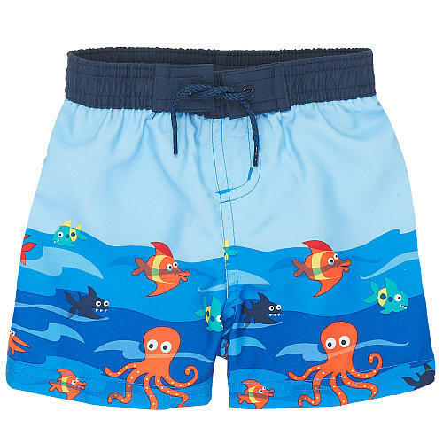 Baby boy swim trunks board shorts new with tags size 12 for Fishing swim trunks