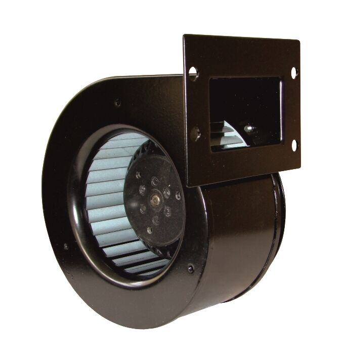 Centrifugal industrial extractor fan blower 2500 rpm 300 m3 h 230 v ebay for In line centrifugal bathroom fan