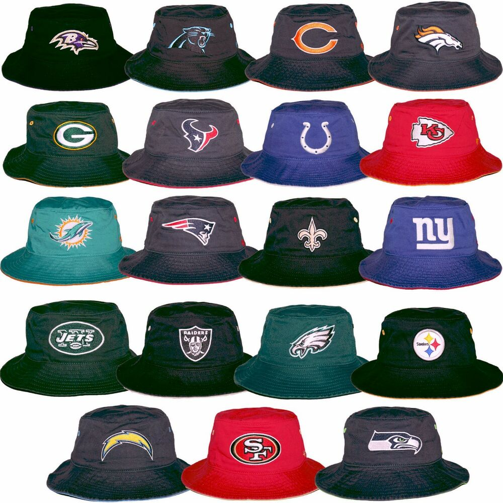 c7a0c826072 47 Brand NFL Kirby Bucket Fisherman Hat Adjustable Chin Strap One Size
