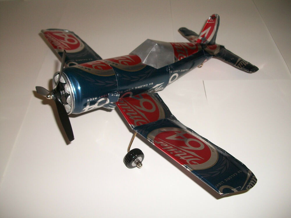 Aluminum soda can handcaft airplaneMILLER 64CORSAIR eBay : s l1000 from www.ebay.com size 1000 x 750 jpeg 73kB